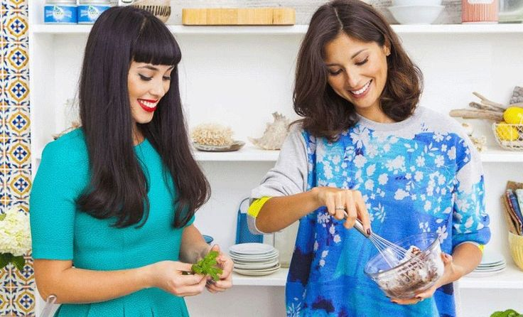 "They make pizza bases out of cauliflower and cheesecake from avocados, but Hemsley+Hemsley insist they are more about food than fads. The sisters and food bloggers make ""nutrient-filled, delicious home-made food"" that is ""whole, organic, free of grain, gluten, high starch and refined sugar"". Jasmine and Melissa are anti-diet and pro-healthy living."