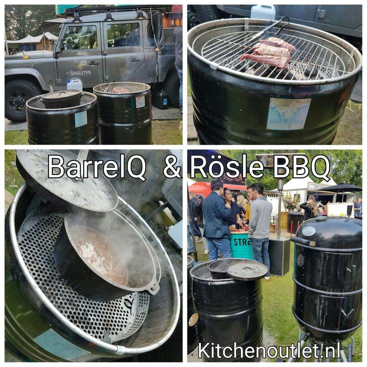 BarrelQ & Rösle #bbq #houtskool #smoker #rookton #barbecue #statafel