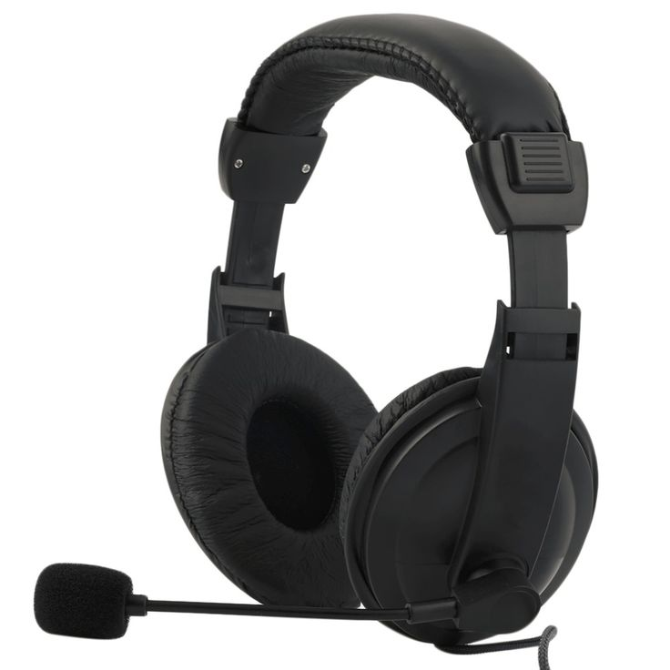 Gaming Headset Game Music Headphone Earphone with Microphone Mic 3.5mm For PC Laptop Computer Black //Price: $17.98     #techie