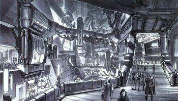 Sketches de Star Wars ep II - Ataque dos clones