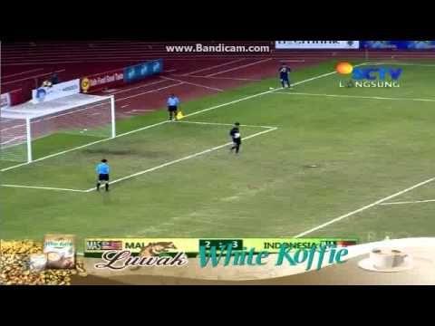 Indonesia vs Malaysia Penalty Shootout Sea Games 2013