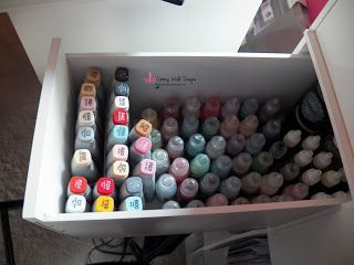 drawer for Copic refills, Stickles and Liquid Pearls