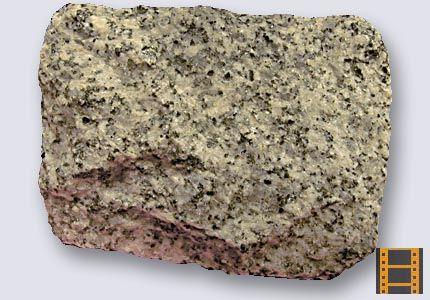 Granito.Roca magmática plutónica o intrusiva