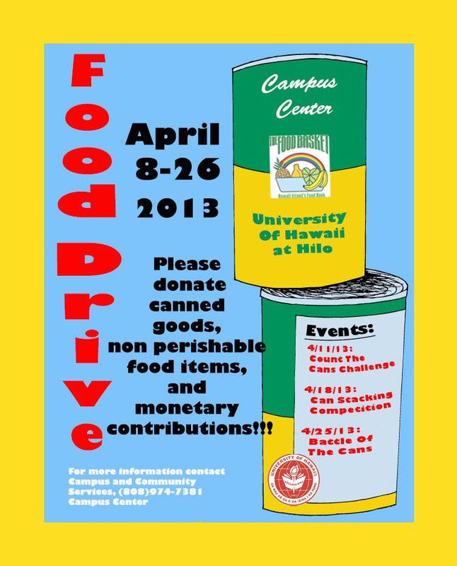 Food Bank Donation Hilo