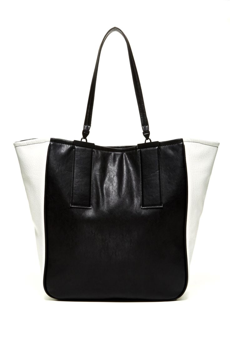 French Connection Metal Bar Tote by French Connection on @nordstrom_rack