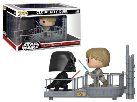 Star Wars | Darth Vader and Luke Skywalker Cloud City Duel Movie Moments Funko Pop Vinyl Figure 2-Pack | Popcultcha