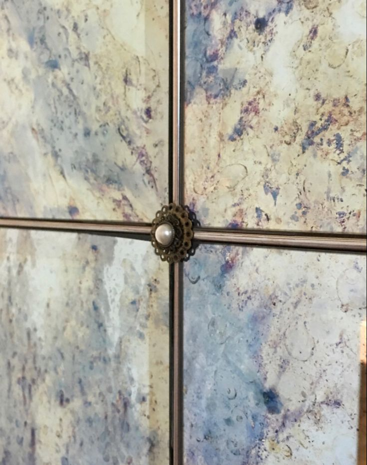Antique Mirror Wall (With images) | Antique mirror wall ...