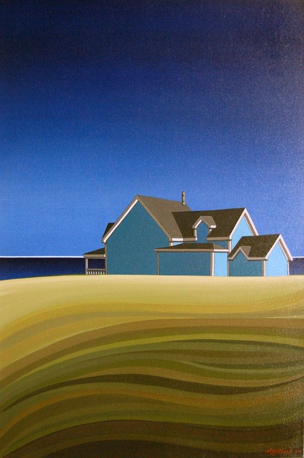 View and buy this Acrylic on Canvas Painting by Adrienne Godbout