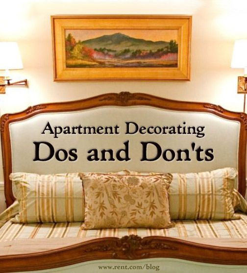 Decorating Ideas For Rentals: Apartment Decorating Do's And Don'ts