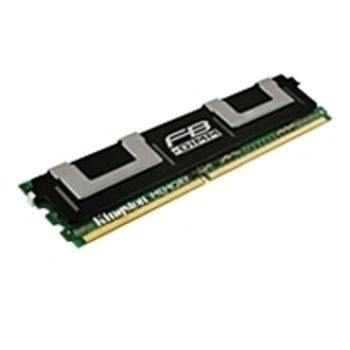 Kingston Technology KTD-WS667/16G 16 GB DDR2 SDRAM Memory Module for Dell PowerEdge 1900, 1950, 1955, M600 and Precision WorkStation T7400 - 667 MHz - DIMM - Fully Buffered