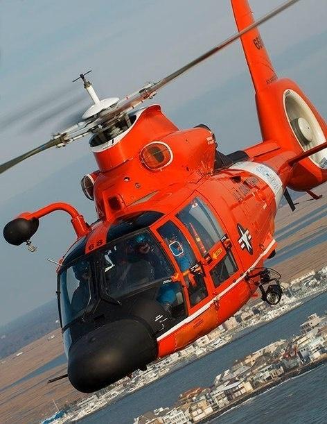 USCG Atlantic City Dolphin helicopter