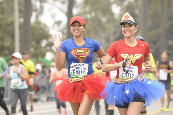 Anyone who is running a 26.2 mile race deserves to be able to do it in whatever clothes help propel them to the finish line.