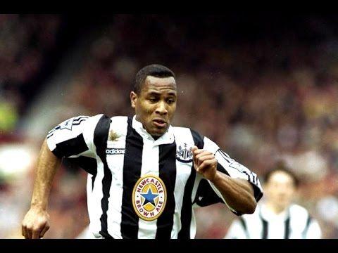 費甸南為紐卡素建功片段( Les Ferdinand Newcastle United goals ) - YouTube