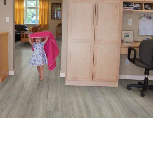 Luxury Vinyl Tile COREtec PlusXL - Whittier Oak 8.3mm x 9 x 72 20 mil Surface Layer Textured- with Attached Cork Underlayment