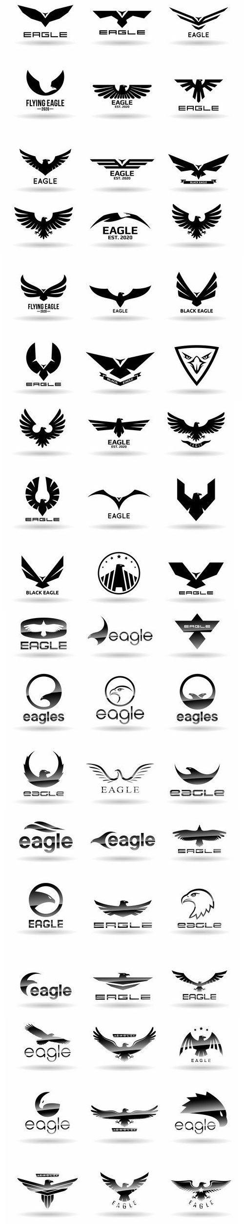 eagle company logo concept ideas www.cheap-logo-design.co.uk #eaglecompanylogo #eagleicon #eaglelogos