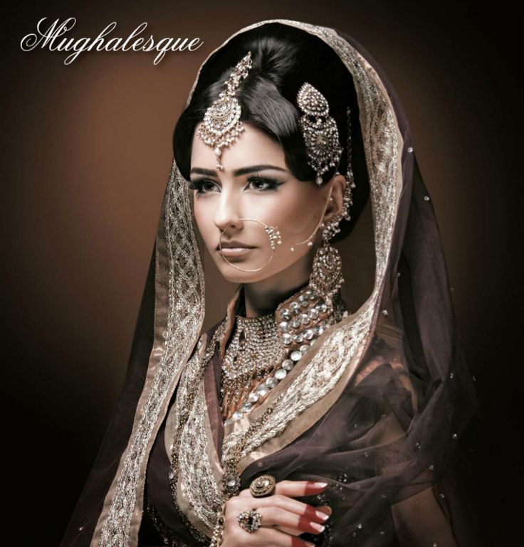 Mughal queen indian bridal jewellery set in mughal style for Bride kitchen queen set