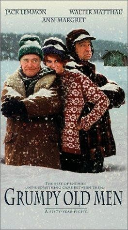 """Grumpy Old Men"" (1993) JACK LEMON, WALTER MATTHAU, ANN-MARGARET"