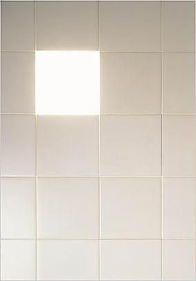 Tile light by Naoto Fukasawa: