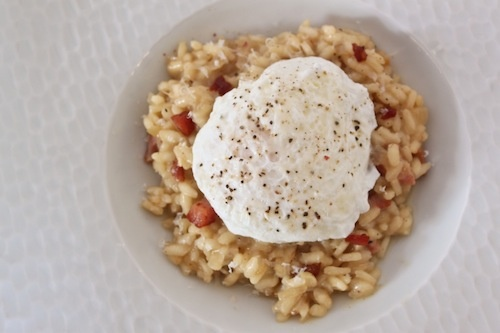Risotto Carbonara (theculinarylife.com): Gluten Free Diet Meals Plans, Easy Risotto, Delicious Simple, Gluten Free Meals, Http Www Glutenfree Meals Com, Carbonara Recipe, Free Delicious, Risotto Carbonara, Food Drinks
