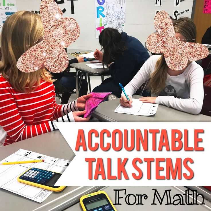 Stem Information For Students: Best 25+ Accountable Talk Stems Ideas On Pinterest