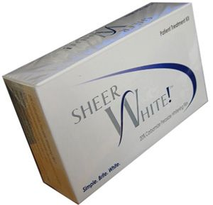 Sheer White Teeth Whitening Strips... I buy these from my dentist and are AMAZING