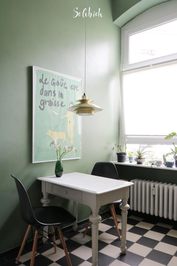 Kuchen Makeover Mit Wandfarben 7 Ideen Mit Vorher Nachher Bildern In 2020 Wandfarbe Grun Alte Wohnungen Kleine Kuche