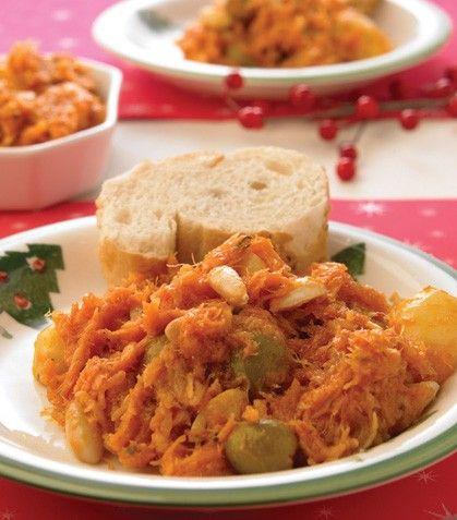 Cocina f cil bacalao navide o food mexican - Cocina navidad facil ...