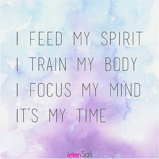 When your mind, body and spirit are in sync, it's your time to shine.