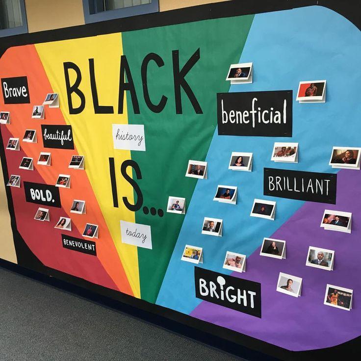 Black History Month bulletin board