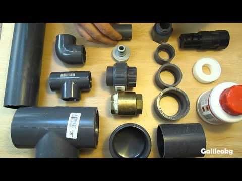 Fabricación bomba de ariete 1.4 parte 1 - YouTube