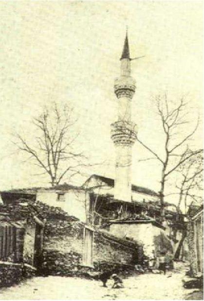 Selanik İki Şerefeli Camii 1917 yılında Baş Melekler Kilisesi