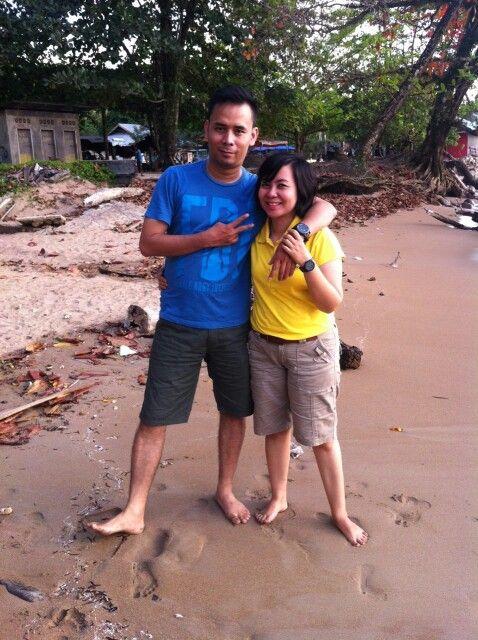 At Bungus beach