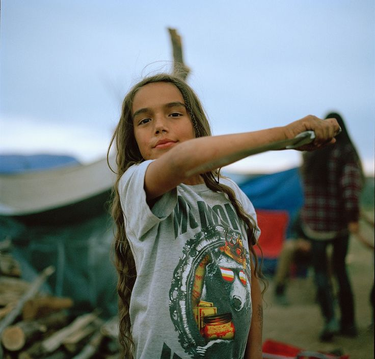"""The Most Inspiring Photographs Of 2016 #refinery29  http://www.refinery29.uk/best-photos-2016#slide-8  Photographed by Mico Toledo Toledo:""""In 2016, an unprecedented number of North American tribes gathered at Standing Rock Sioux Reservation in North Dakota to oppose the build of an oil pipeline crossing sacred Sioux lands and the Missouri river. The gatherin..."""