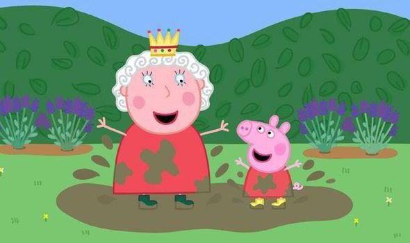 Peppa Pig voted one of the greatest children's TV shows..