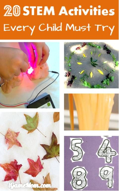 20 STEM activities for Kids Every Child Must Try This Fall