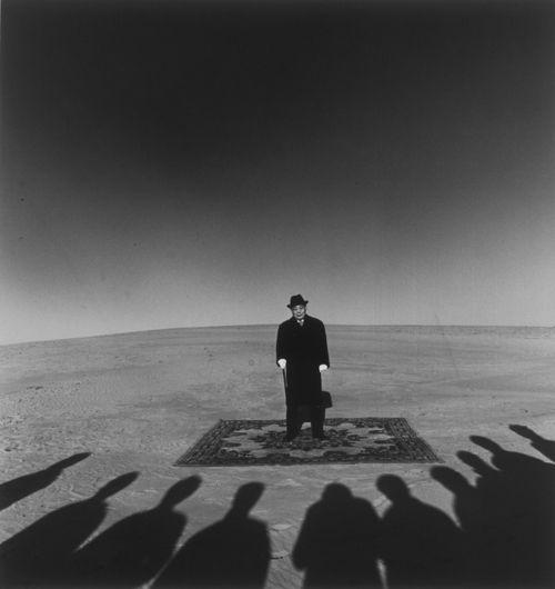Shoji Ueda, Dunes, Portrait de Monsieur Sohji Yamakawa, 1984