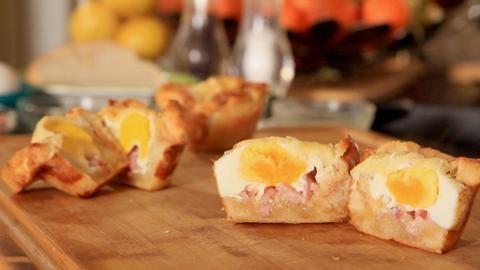 Muffin déjeuner pour matin pressé Le chef Nicolas Moreau vous propose de réinventer le traditionnel déjeuner pour simplifier vos matins pressés.