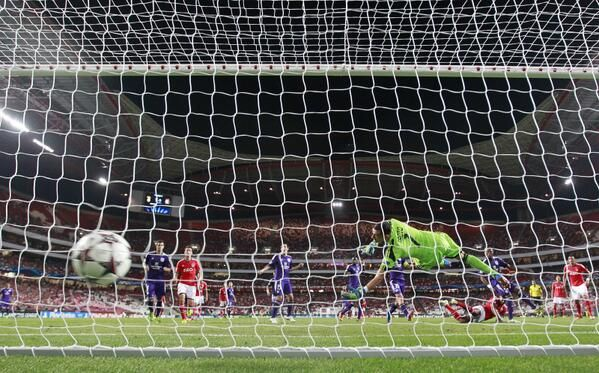 Luisão Champions League incha Anderlecht  #Benfica