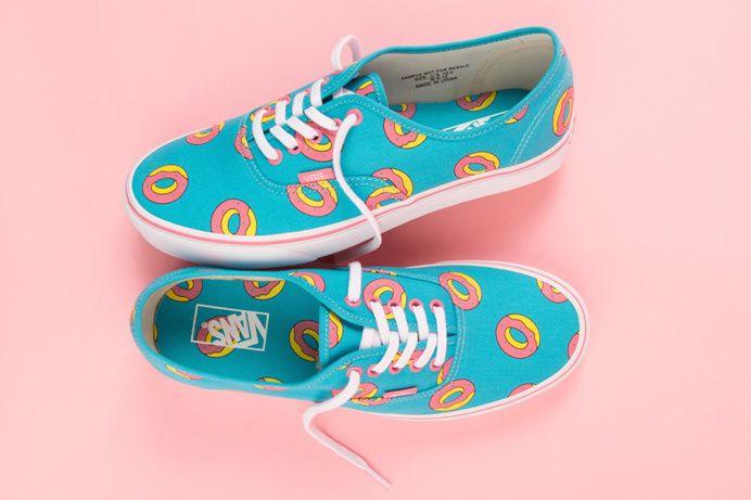 Odd Future & Vans' Donut-Print Footwear Collab