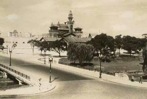 Década de 40 - Palácio das Indústrias no parque Dom Pedro II.