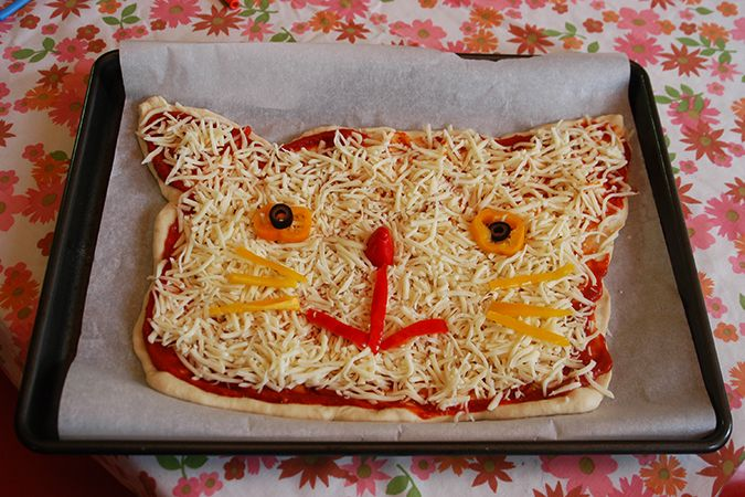 cat pizza party