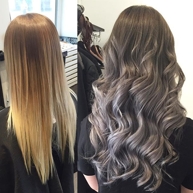 GRAY ✔️#sweden #lecoiffeur #frisör #frisörgöteborg #hairinspo #balayage #ombre #hair #blonde #totalmakeover #olaplex#hairstyle #haircut #haircolor #hairstylist #hairdresser #hairfashion #hairofinstagram #blondiner #blond #beauty #göteborg #Sverige #baldacci #repost #salon #studio#fall #repost #blonde #highlights
