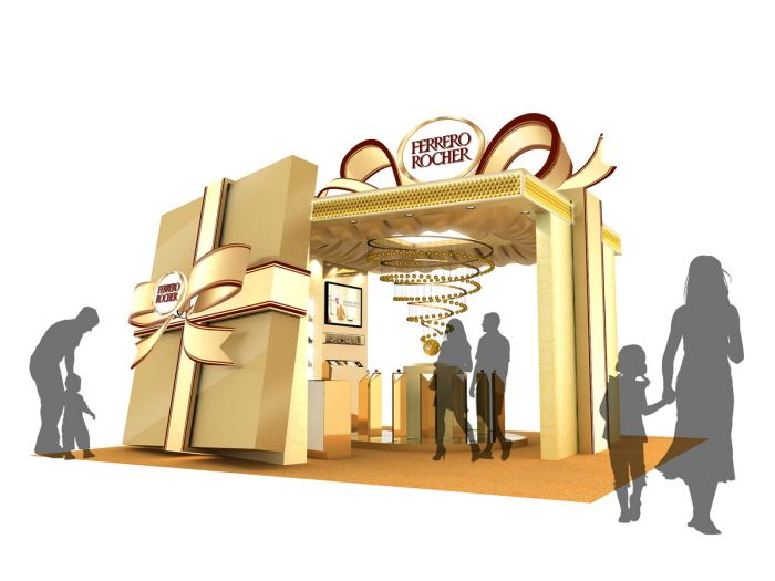 Ferrero Pop-up store by Tommy Cheung at Coroflot.com