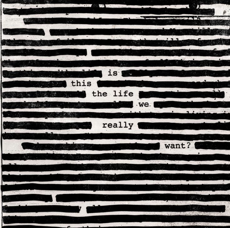 Roger Waters : Is This The Life We Really Want ?