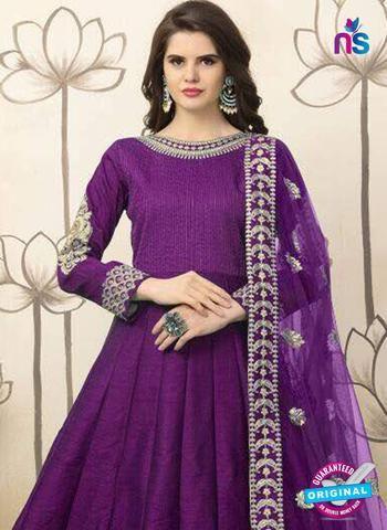 Latest AZ 6687 Purple Anarkali Suits Online at Newshop.in.  #latestanarkalisuitsonline #buyanarkalisuitscollection #purple #newshop