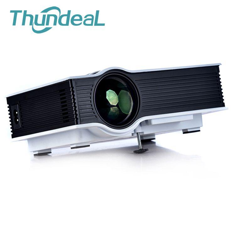 UC40 Up to UC40+ Mini Projector Pico Portable Proyector Projectors AV USB SD VGA HDMI Beamer For Home Theater 3D HD Original Box