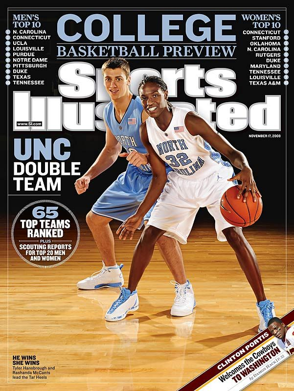 Tyler Hansbrough Sports Illustrated Cover !
