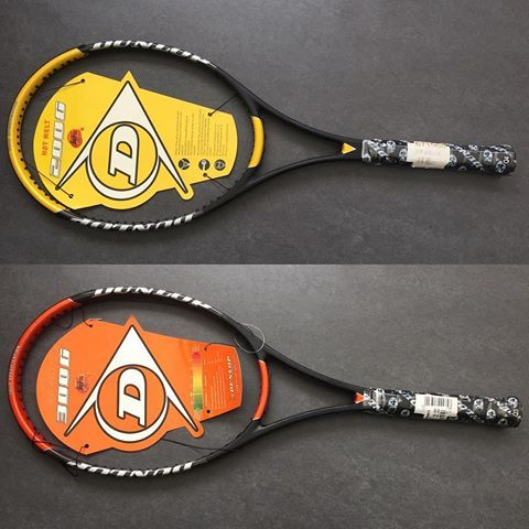 Who still plays with these fantastic rackets? We have them back in stock. Not that many - so please hurry up. Dunlop Hotmelt 200G / 300G. #tennis #tennis hear #tennisracket #dunlop #dunloptennis #hotmelt #200g #300g #nos #newoldstock #rubberpaint #forsale #backinstock #oldschool #pst #prostocktennis #eyecandy #instagood #instafollow