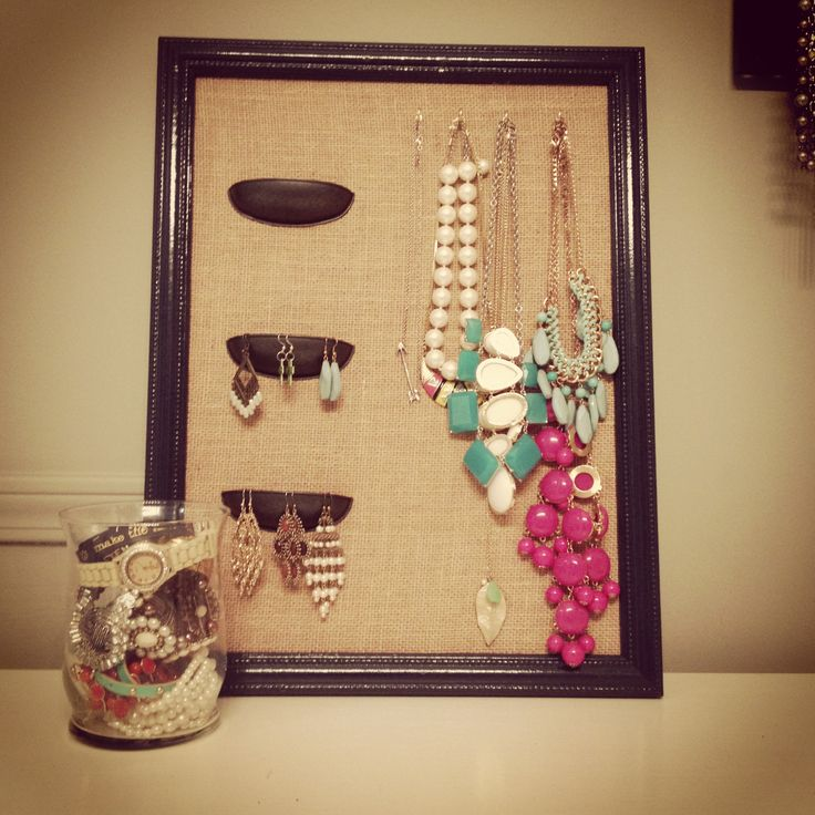 239 best diy jewelry holders crafts images on pinterest bedroom diy jewelry organization solutioingenieria Images