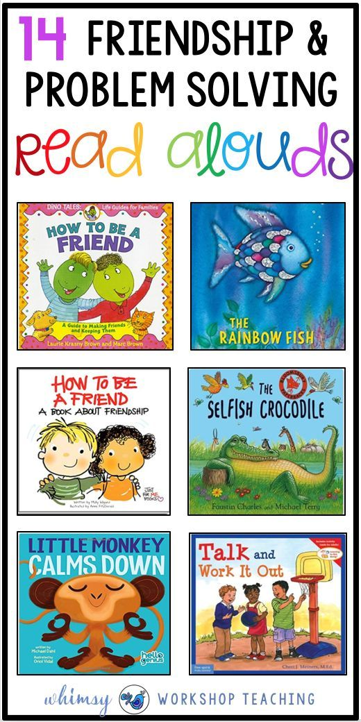 Teaching social skills and character development is essential in kindergarten, grade one and grade two! Lessons on friendship and problem solving are supported with this book list to support social emotional learning ( SEL )
